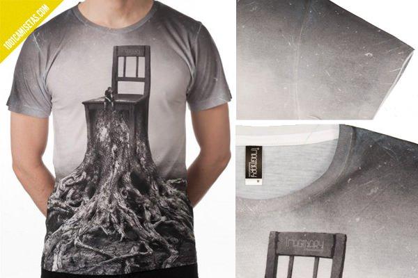 Camiseta sublimación detalles
