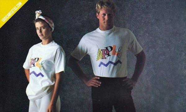 Camisetas Apple vintage