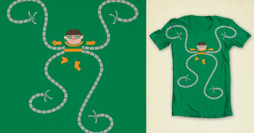 Camiseta doctor Octopus