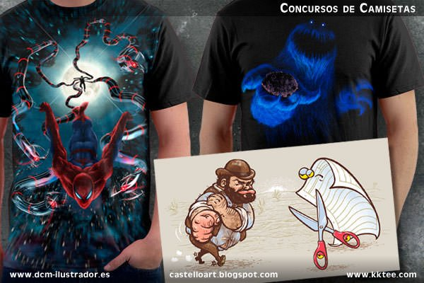 Camisetas Daniel Castello