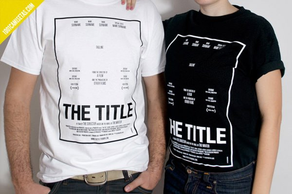 Camiseta Title