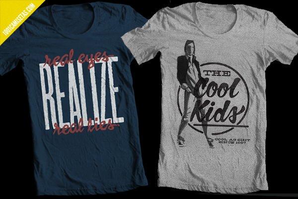 Camisetas estampadas vintage