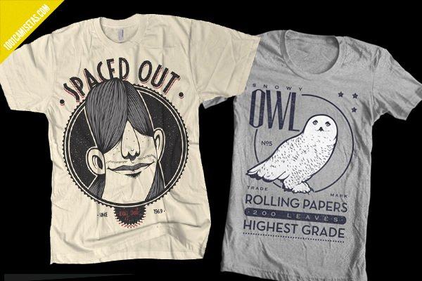 Camisetas estilo vintage
