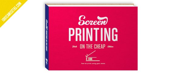 Libro serigrafia screen printing on the cheap