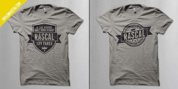 Camisetas rascal vintage