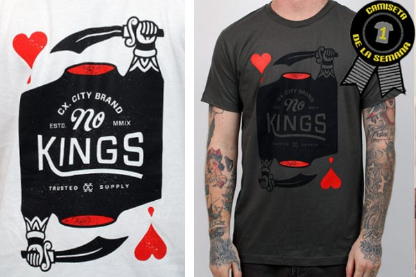 Camiseta de la semana No kings