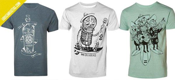 Camisetas Billabong