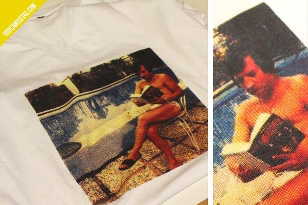 Camisetas estampadas cuatricomia
