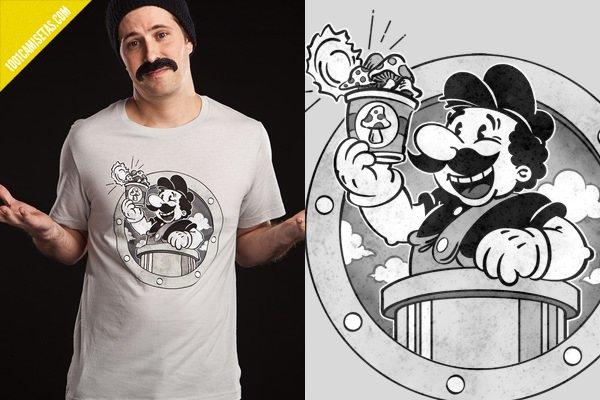 Camisetas Mario bros classico