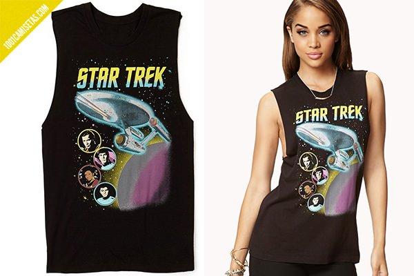 Camiseta Star Trek chica