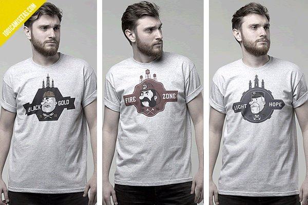 Camisetas serigrafiadas
