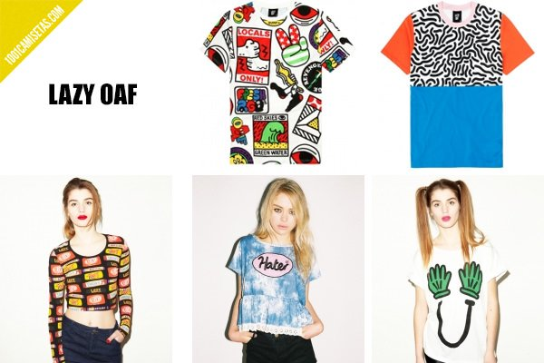 Camisetas Lazy Oaf
