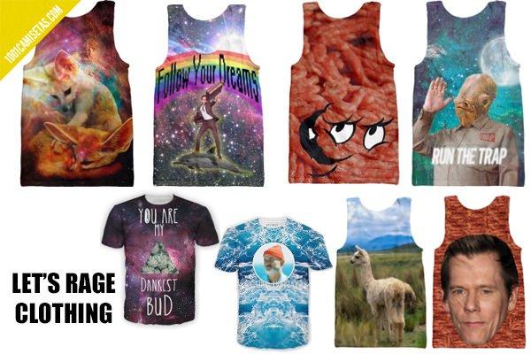 Camisetas Lets rage