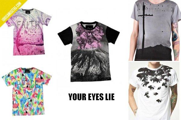 Camisetas your eyes lie