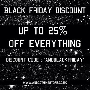 Black friday andclothing