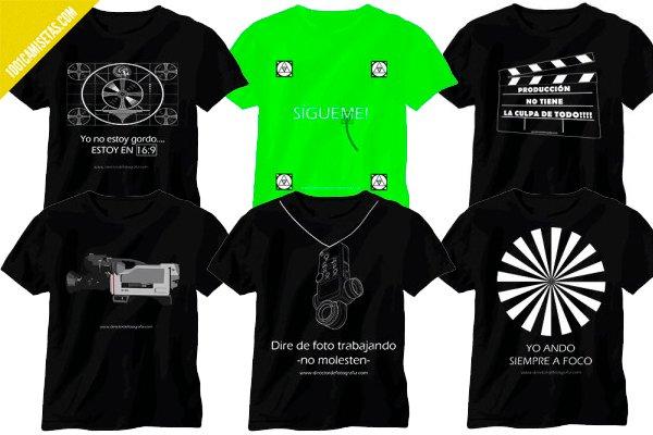 Camiseta tecnicos cine