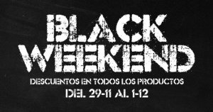 Lola camisetas blackweekend