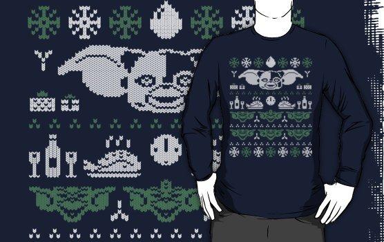 Camiseta gremlins navidad