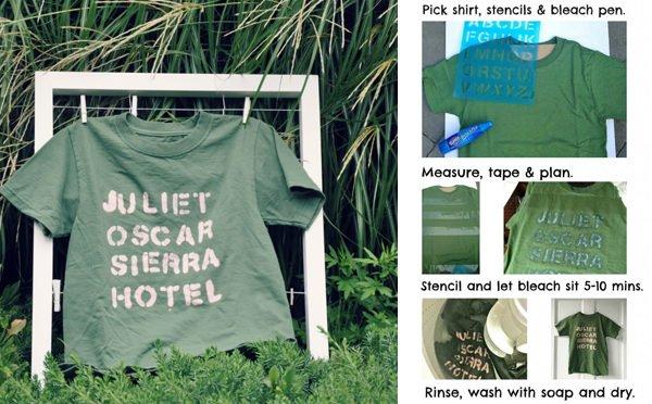 Camisetas personalizadas caseras