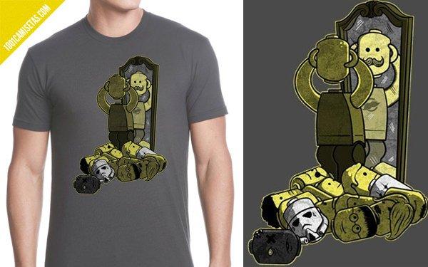 Camiseta geek lego