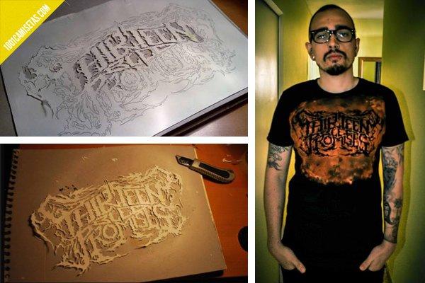 Camisetas stencils