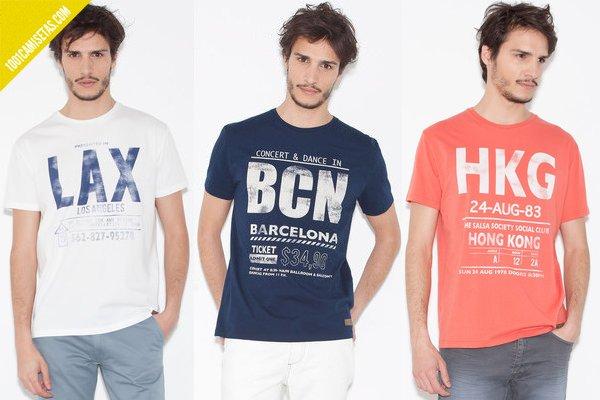 Camisetas aereopuerto springfield