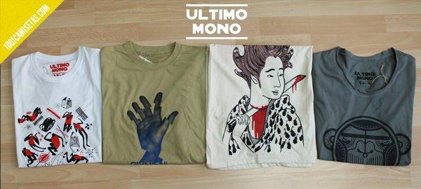 Camisetas Ultimo Mono