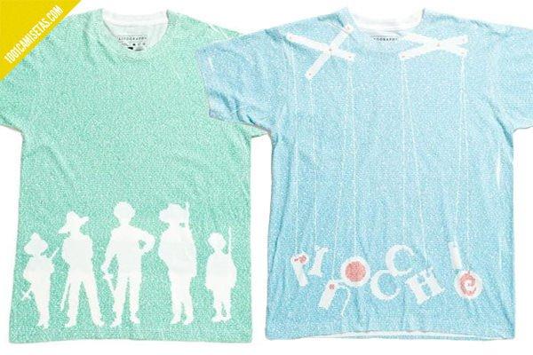 Camisetas litographs