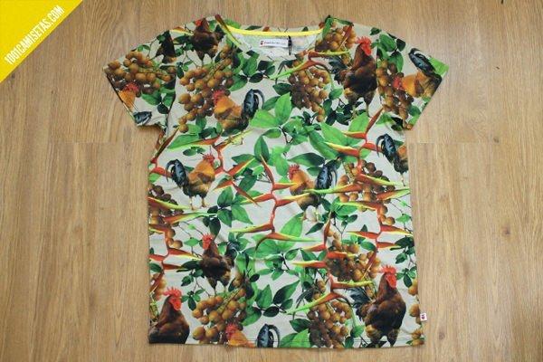 Camiseta reactive printing