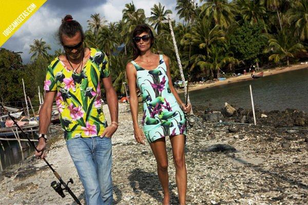 Camisetas tropicales