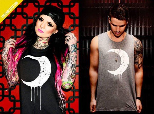 Camisetas luna