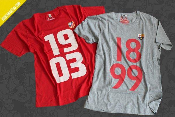 Camisetas teesforfans