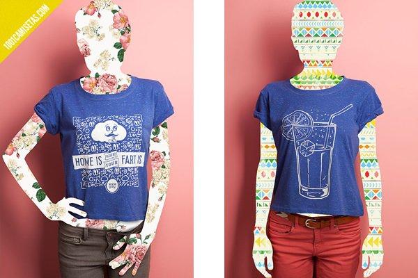 Camisetas veraniegas