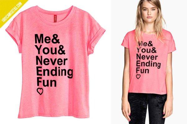 Camiseta san valentín