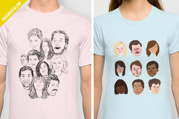 Camiseta parks and recreation