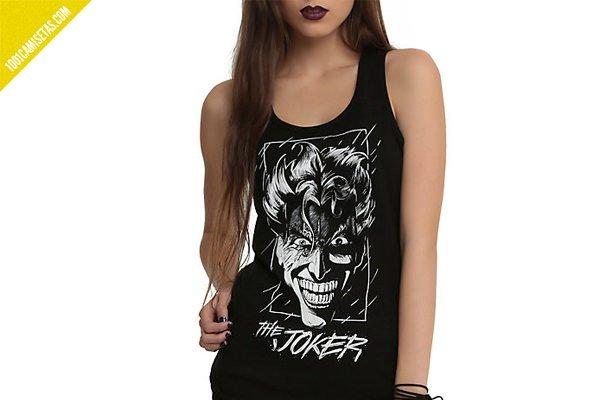 Camiseta tirantes joker