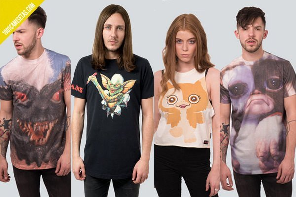 Camisetas gremlins
