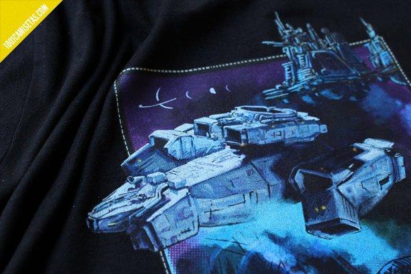 Camiseta de alien