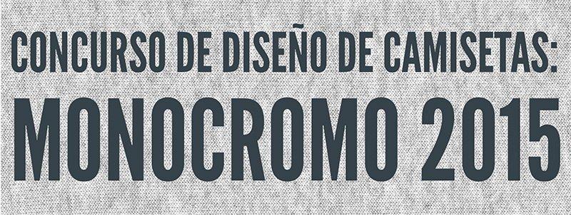 Concurso camisetas Monocromo