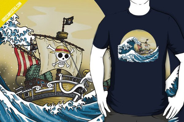 Camiseta one piece going merry