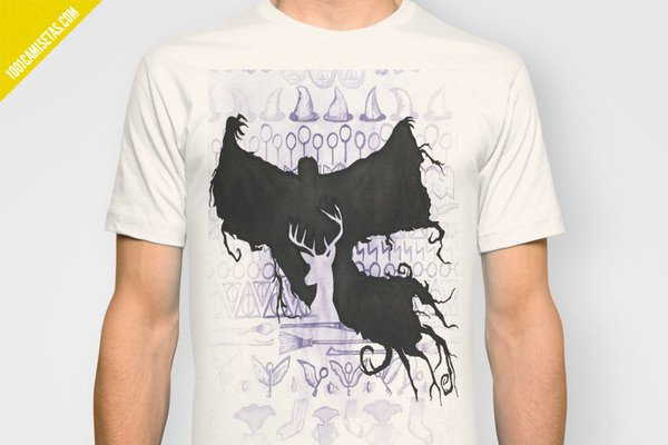 Camiseta dementor patronus