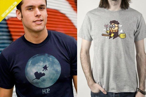 Camiseta et harry potter