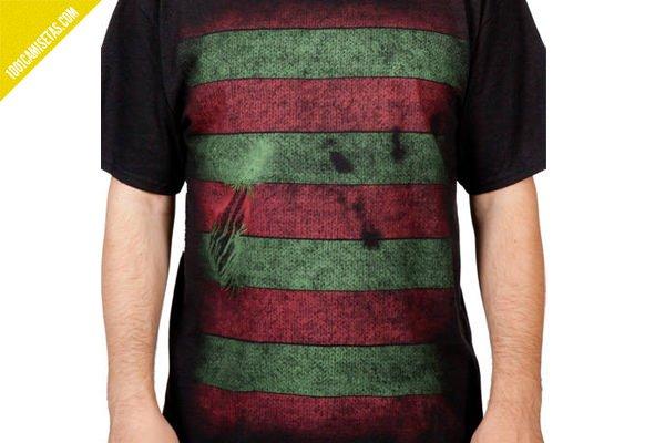 Camiseta freddy krueger rallas