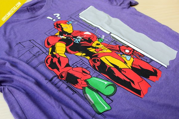 Camiseta iron man