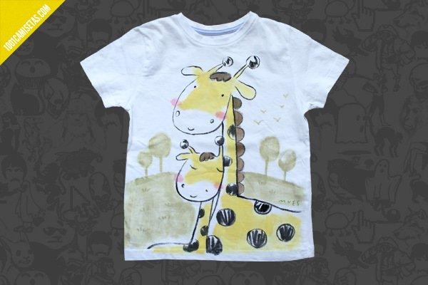 Camisetas infantiles pintadas mano