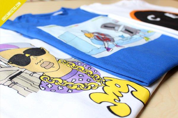 Camisetas music guetto