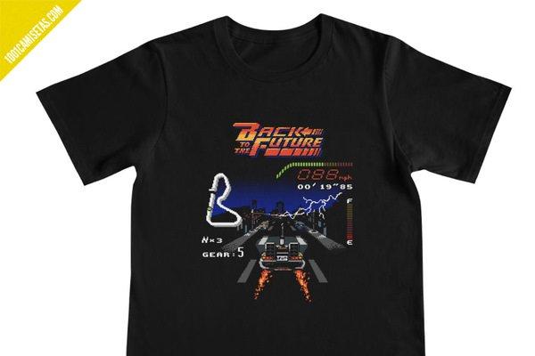 Camiseta delorean regreso al futuro