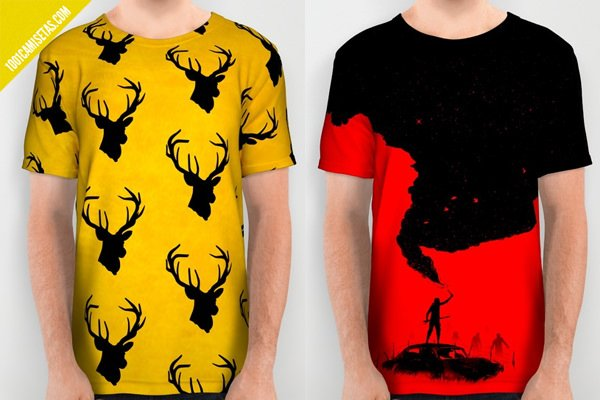 Camisetas full print juego de tronos