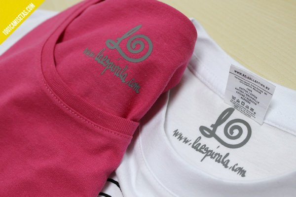 etiquetas camisetas la espirala