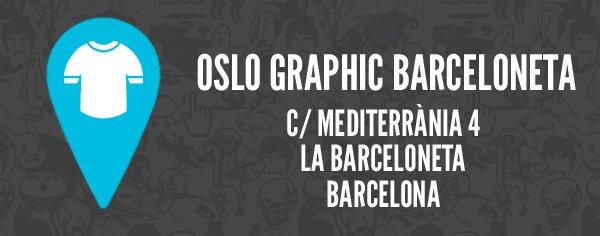 Oslo graphic barceloneta